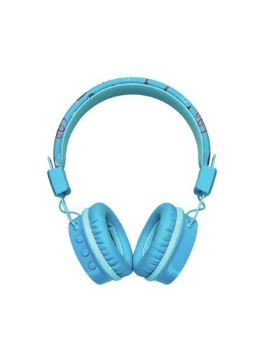 Trust Trust Comı Mavi Bluetooth Kulak Üstü Çocuk Kulaklığı Renkli